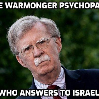 #Resistance Hero John Bolton: Notes From The Edge Of The Narrative Matrix