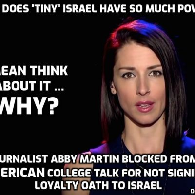 Podcast: Abby Martin Resists Anti-BDS Laws & The Israeli Lobby