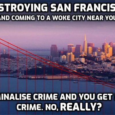 Claim: It's Tech Giants Who Turned San Francisco Into 'Dystopian Nightmare Of Addiction, Homelessness And Criminality'