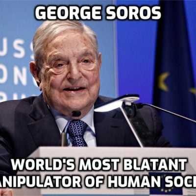 Cult-Owned George Soros' $1 Billion Pledge To Fight 'Nationalism' Proves He Will Continue His Political Battles [Cult Agenda] From Beyond The Grave