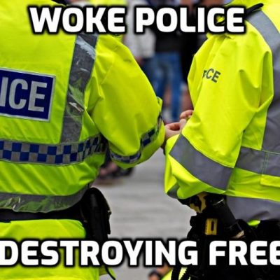 Fascist Australian Police Pay Home Visits to 80 People Warning Them They Will Be Arrested if They Protest Against Lockdown