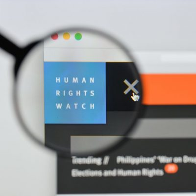 Human Rights Watch Disinformation