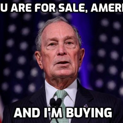 Michael Bloomberg not only seeks to buy the presidency, but gags his own global 'news' organisation from investigating him