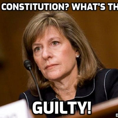 The STAGGERING bias, mendacity and corruption of excuse-for-a-judge Amy Berman Jackson