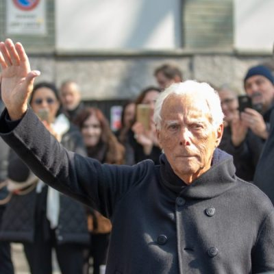 Armani piggybacks on #MeToo by likening sexy ads & fashion trends to RAPE… but that's never stopped him from embracing them