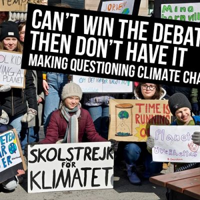 Can't Win The Debate? Then Don't Have It - Making Questioning Climate Change Illegal - David Icke