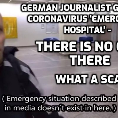 New source for banned YouTube video: German journalist goes to hospital 'teeming with coronavirus patients' - how can doctors cope? - and finds NO ONE THERE