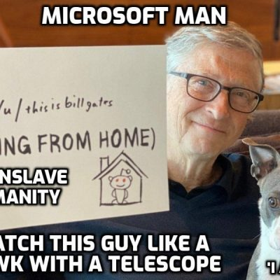 Bill Gates and his stimulus-response empire