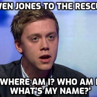 Woke Brain of Britain Owen Jones wants people to unite behind five demands over coronavirus. He just doesn't know what they are