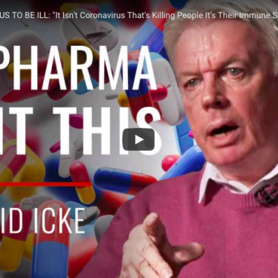 BIG PHARMA WANT US TO BE ILL: