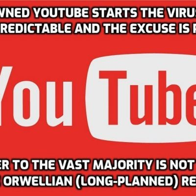 We must fight YouTube's outrageous censoring of lockdown sceptics