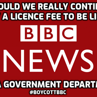 We are paying a licence fee to the BBC for the right to be lied to by biased, unquestioning repetition of the official story of EVERYTHING. Why should we continue to do it? #BoycottBBC