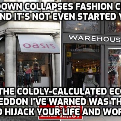 Killing Capitalism: 10,000s Of U.S. Businesses Permanently Shuttered