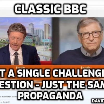 Gates giving millions to the 'independent' BBC - no wonder they give him an easy ride. Live debate Mr Gates? Any time you like ...