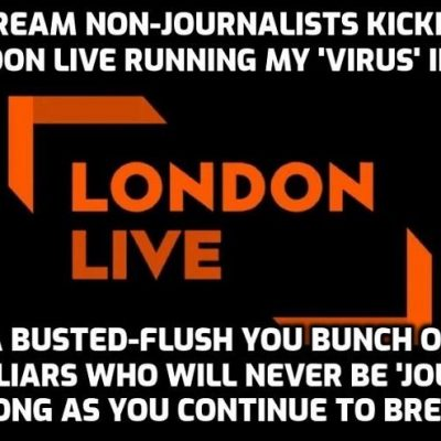 Mainstream non-journalist gatekeepers don't like people seeing my 'virus' videos and the truth coming out when their job is to stop that - it's in their job description