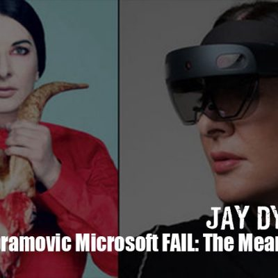 Marina Abramovic Microsoft FAIL: The Meaning