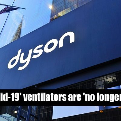 Dyson 'Covid-19' ventilators are 'no longer required' - Oh, really? I'm shocked