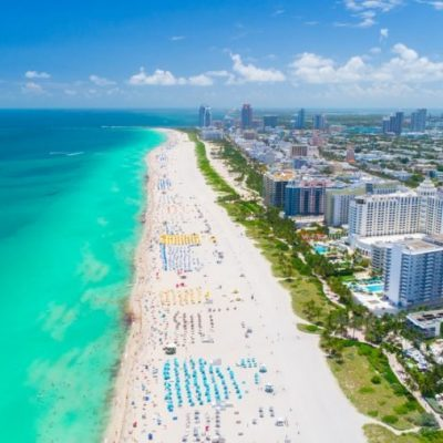People make 'mad dash' to Florida beach after reopening