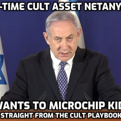 Benjamin Netanyahu suggests microchipping kids, slammed by experts