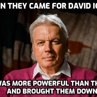 Then They Came For Icke - Know More News