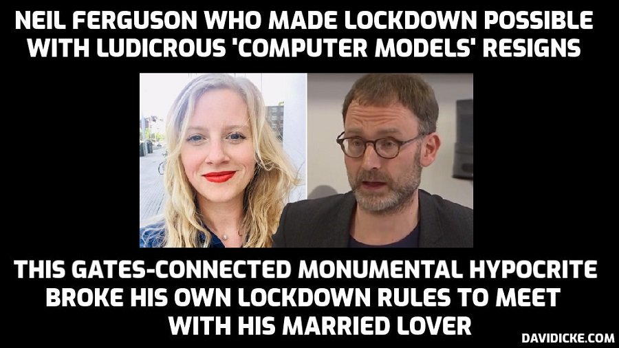 Advisor known as 'Professor Lockdown' resigns after breaking rules to meet  married lover – David Icke