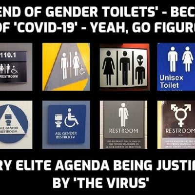 Coronavirus could see ladies and gents public toilets replaced by gender fluid loos