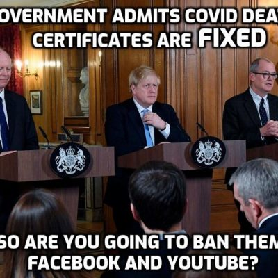 UNBELIEVABLE - Downing Street announces that COVID death certificates ARE being falsified (as David Icke has been saying for weeks and weeks)