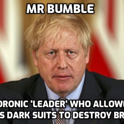 Boris Johnson to set out plans to 'rebuild Britain' which his spineless idiocy has destroyed (and Keir Starmer would have been even worse)