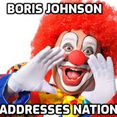 Boris Johnson Speaks to the Nation: Have Yourself a Merry Little Covidmas