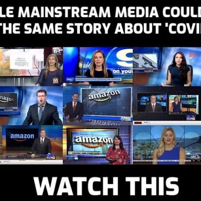 11 TV Stations Pushed the Same Amazon-Scripted Segment - the mainstream media is the sickest of jokes and it's telling you what to believe about 'Covid-19'