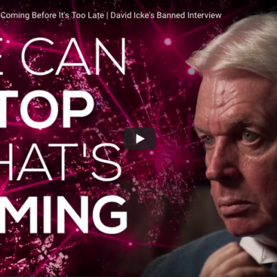 We Can Stop What's Coming Before It's Too Late - David Icke's Banned Interview