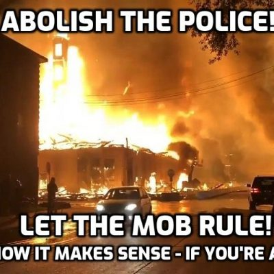 What Is The Real Agenda Behind The Effort To Defund & Dismantle The Police?