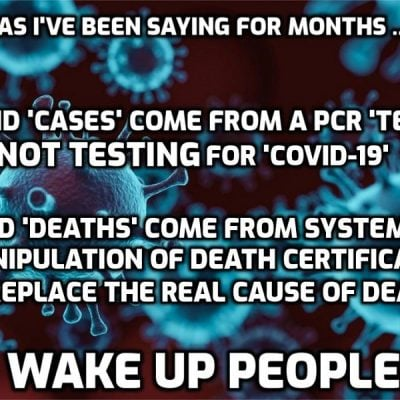 US grapples with worst coronavirus outbreak in world (caused by an expansion of 'testing' with a test not testing for the 'virus')