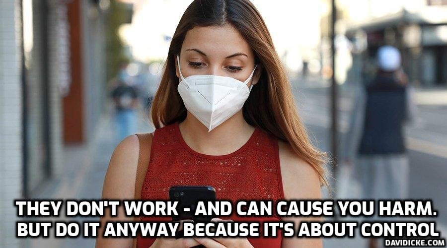 Masks are killing you – Take them off now – Doctor – Please Share