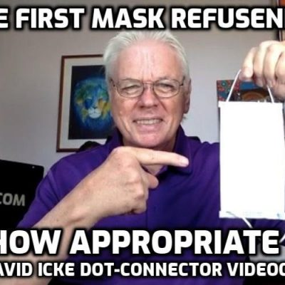The First Mask Refusenik - How Appropriate - David Icke Dot-Connector Videocast