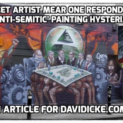 Exclusive to Davidicke.com: Street artist Mear One responds to 'anti-Semitic' painting hysteria