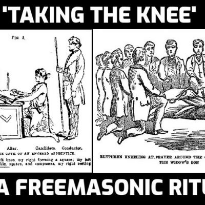 The Freemason Ritual and Meaning of 'Taking a Knee'