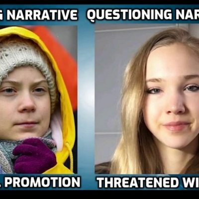 While script repeater Greta Thunberg is given global promotion her highly-intelligent challenger Naomi Seibt is threatened with jail in 'free' Germany for 'climate denialism'