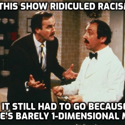 Fawlty Towers ban 'identity politics on steroids'