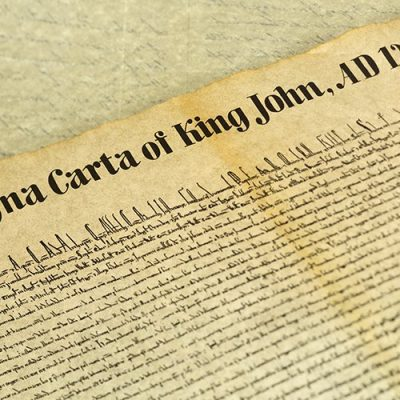 The Magna Carta Clause 39 & 40