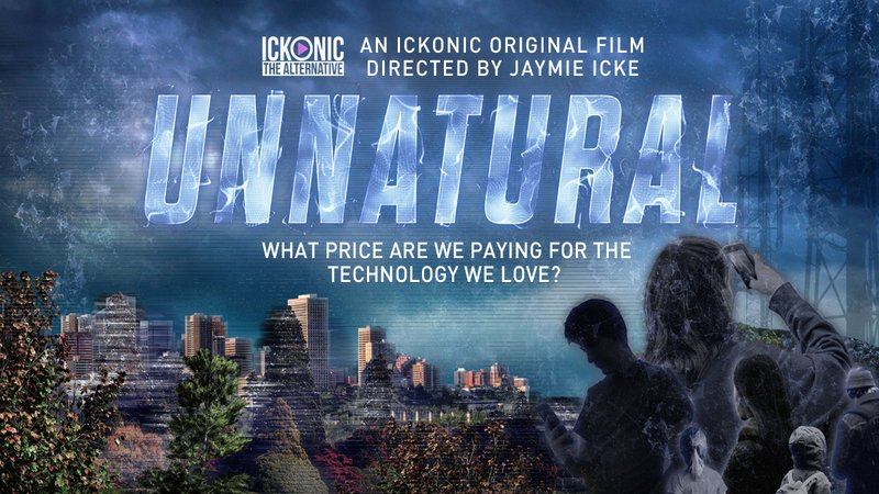 Feature Song of Ickonic's Upcoming Original Documentary 'Unnatural' On The Effects Of Electromagnetic Technology - Written by Gareth Icke and Performed by Derbyshire-based singer Bria