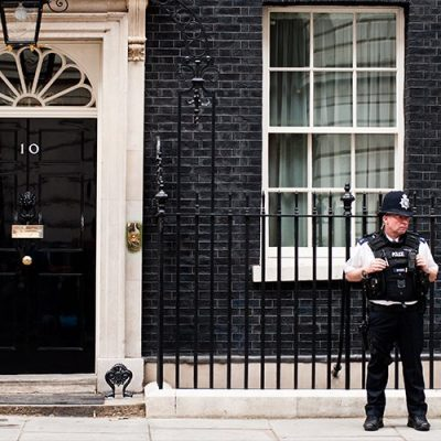 BlackLivesMatter Protesters Attempt To Storm Number 10 Downing Street