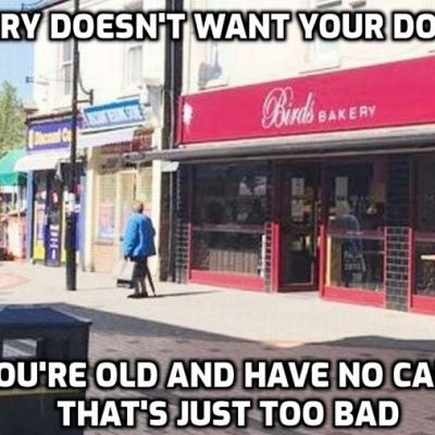 HERE'S A BAKERY TO GIVE A MISS: Birds Bakery employee of 40 years sacked for taking cash payments and using her card to pay instead to help a 94-year-old who doesn't have a card