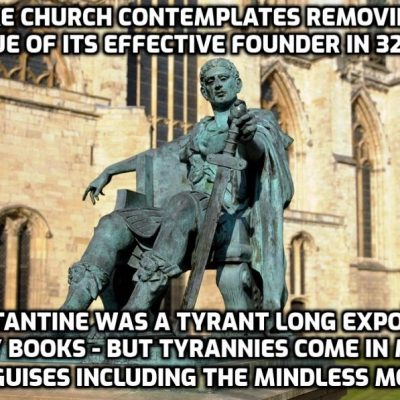 York Minster's statue of Roman emperor Constantine could be torn down after complaints that he supported slavery