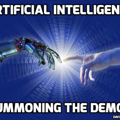 War Mongering for Artificial Intelligence