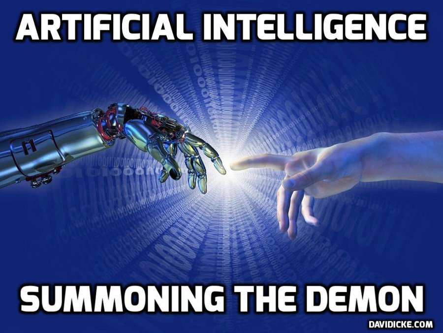 A Symbiosis of Humans & Technology – Changing The Conversation – David Icke