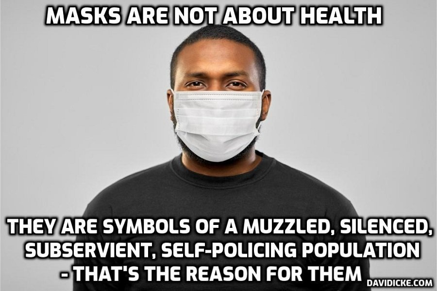 WHO now saying You do not need to Wear a Mask – David Icke