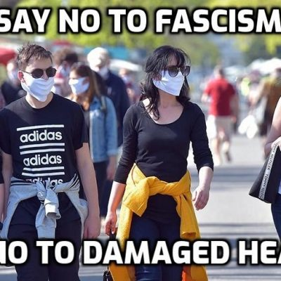 Mass Protest In Germany To Ditch Face Mask Mandates