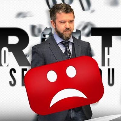 Dan Dicks, Press For Truth has his entire channel deleted from Youtube