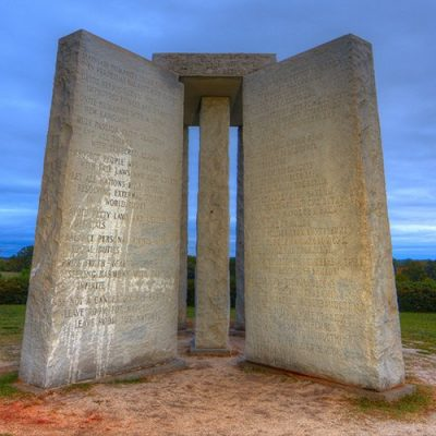 Georgia Guidestones & Population Control